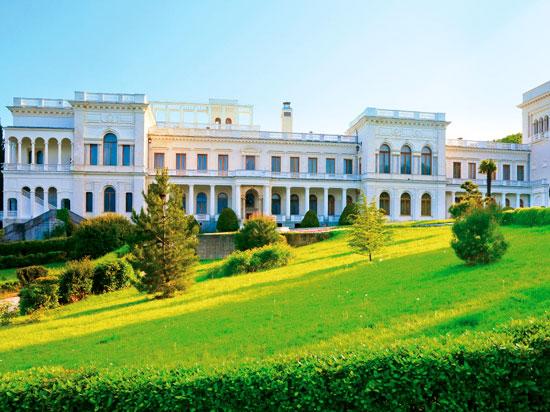 ukraine yalta palais de livadia  fotolia