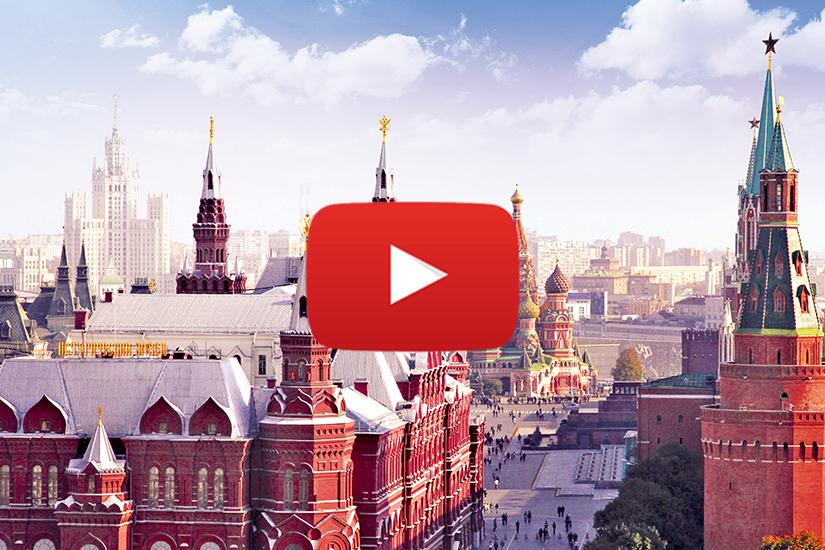 WVIDEO Moscou, St Pétersbourg et l'Anneau d'Or