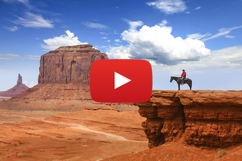 WVIDEO Sur la route des USA, l'Ouest Américain