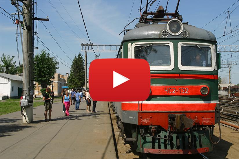 WVIDEO Le Transsibérien de Moscou à Pékin