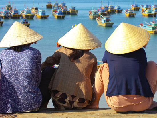 vietnam femmes de marins  istock