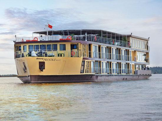 (Image) vietnam cambodge bateau mekong prestige
