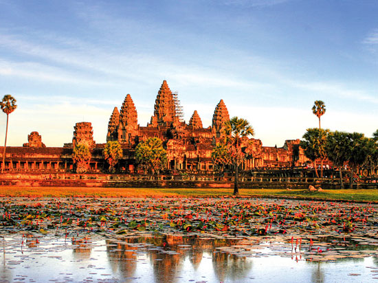 (Image) vietnam cambodge temple angkor  fotolia